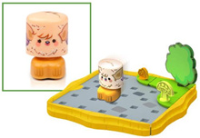 [MOSHI MONSTERS, BOBBLE BOTS] BCC97Q409 - Squidge [#08]: Moshi Monsters x Bobble Bots Starter Set Se
