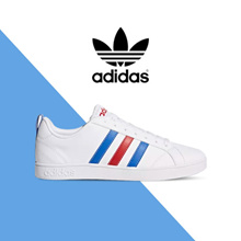 [ADIDAS] F99255 VS ADVANTAGE FTWR WHITE/BLUE/POWER RED