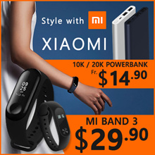 [New Arrival] Xiaomi Mi Band 3|Powerbank Fitness Tracker|Heart Rate|0.78 OLED Display Touchpad|Expor
