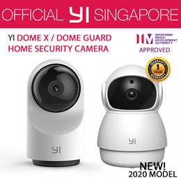 [Official XiaoYi SG] XIAOYI DOME HOME CAMERA *Pan/Tilt/Zoom Wireless IP Security Surveillance System