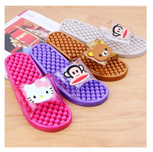 Small red classic fairy tale full 10 0-3 years old early childhood hello kitty massage slip bathroom slippers home slippers female cool new leak