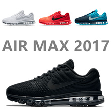 "More styles"" AIR MAX2017 Air cushioned running shoes Mens and womens running shoes sports shoes"