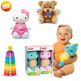 ♥NEW arrival♥ educational toys/fisher price/Caterpillar construction/bear/kitty/newborn