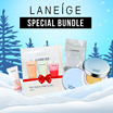 ★LANEIGE★ BB CUSHION PORE CONTROL SPF 50+ / PA +++ | #21 NATURAL BEIGE | #23 SAND BEIGE +LANEIGE WR MAKEUP GIFT(3set)+LANEIGE FOAM CLEANSER MOISTURE 10ML