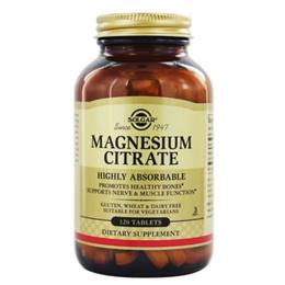 [무료배송] 솔가 마그네슘 구연산 120정 Magnesium Citrate 17115