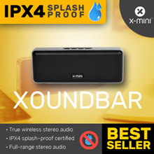 X-mini™ XOUNDBAR Speakers / Bluetooth / True Wireless Stereo