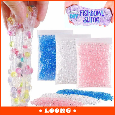 Qoo10 50g Diameter Fishbowl Beads Vase Filler Slime Beads For Diy