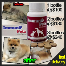 ★Ready Stock★ fast del.. Immuno petz supplement for skin n coat