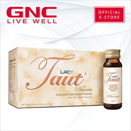 [Your Skin. Years Younger] LAC Taut® Collagen Drink plus Placenta (50ml x 8 bottles) [GNC Exclusive]