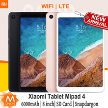 [New Arrival] Xiaomi Mi Pad 4  Mi Tablet Support SD card  6000mAh  8 inch  With Play store Export