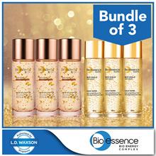 Bundle of 3 [Bio Essence] Bio-Gold Gold Water 30ml x 3/ Bio-Gold Rose Gold Water 30ml x 3