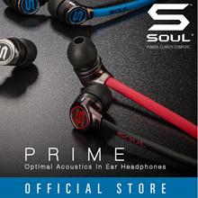SOUL Electronics PRIME Optimal Acoustics Wired In-Ear Earphones Local Warranty