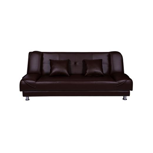 Qoo10 Sofa Bed Gucci Warna Dark Brown, Dark Brown Furniture