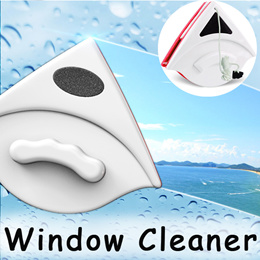 Window Cleaner ◇ Magnetic Double Glass Cleaning Tool Safe Clean Wash for High-rise Buildings
