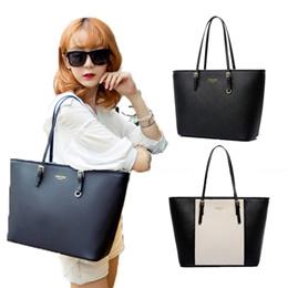 Trendy Saffiano Effect Premium Tote Bag