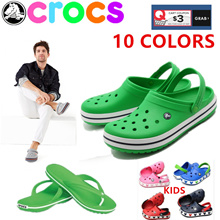 【limit to sale】 slippers CROC S sandals Mens wonmens shoes slippers beach shoe material light