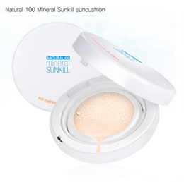 ★★ CATRIN ★★Natural 100 Mineral Sunkill Sun Cushion 13g / tone up