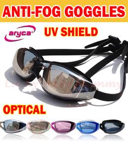 319b8b08e7f7  Premium Taiwan Aryca Anti fog goggles UV shield Adult  kids Swimming  goggles