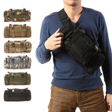 Multi-Purpose Outdoor Military Tactical Design Waist Pouch Bag / Small Travel Bag