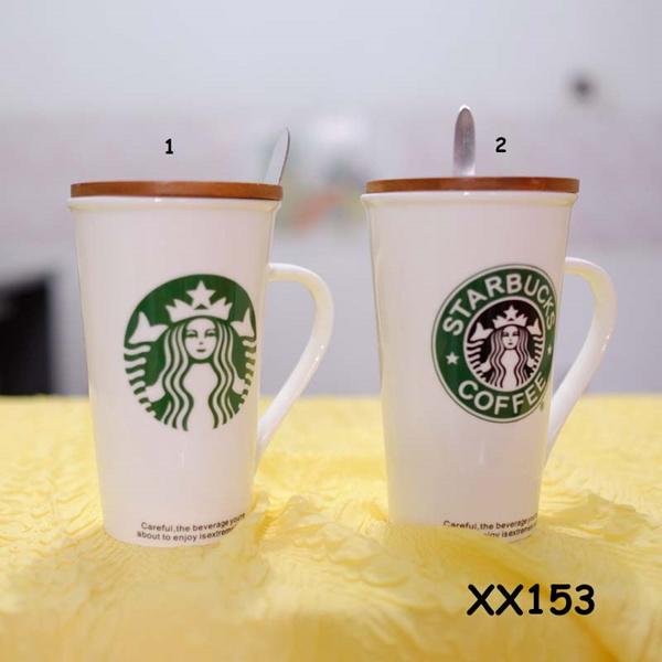 ? mug / gelas teh dan kopi keramik tinggi lancip tutup kayu ? Deals for only Rp58.000 instead of Rp58.000