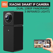 Xiaomi 1080P Dual Lens Panoramic View Smart WIFI IP Camera Xiaofang Dual CMOS Camera