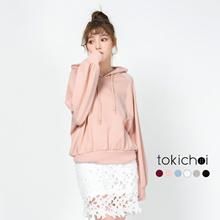 TOKICHOI - Oversized Pullover Hoodie-172193-Winter