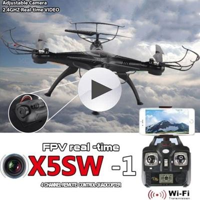 FPV X5SW-1 Quadcopter WIFI Live Cameras Selfie Video Drone 2.4Ghz 4CH RC RTF