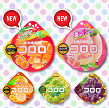 UHA per serving Japanese UHA Kororo Jelly 5 kinds of flavors Bijin Chin Price Honeymoon Mountain * K