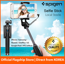 Spigen Selfie Stick with Remote Shutter Waterproof Case for iPhone 7 / 7 Plus / 6 / Samsung S8