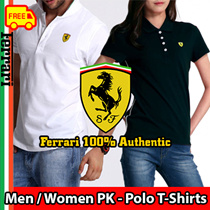★Limited Offers !★Free Shipping★Ferrari Italy Classic Casual Mens / Womens / Unisex Polo T-Shirt ★New Super Sale★[Ferrari 100% Authentic] Fast Shipping