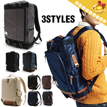 ◆Korean Style Master Organizer Backpack◆ 3 way Bag/ Laptop Bag/ Rucksack-3 types