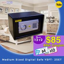 【Yale】Medium Sized Digital Safe YSFT- 25ET