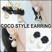 [LAURENCO]  New update!! 💎🌺Luxury elegant style Earring_Camellia / coco new style Earrings