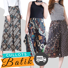 NEW ARRIVAL UPDATED - FREE DELIVERY - CULLOTS BATIK - MODERN DESIGNS - STRETCHABLE