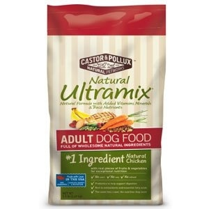 Us 203 20 Castor Pollux Natural Ultramix Adult Dry Dog Food Chicken 30lb