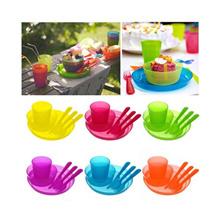 Ikea kalas 36pcs (mug piring mangkuk sendok garpu pisau)