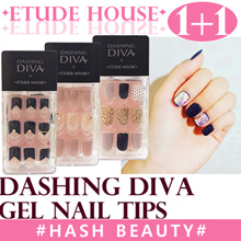 [ETUDE HOUSE]★1+1★Dashing diva Magic Press Gel nail tips/nail stickers
