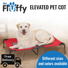 Elevated Pet Cot / Bed Frame with Net / Dog / Puppy / Cat / Kitten / Waterproof / Comfortable