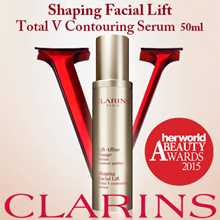 Best Price! Beauty Awards Best Seller! Clarins Shaping Facial Lift Total V Contouring Serum 1.6oz/50