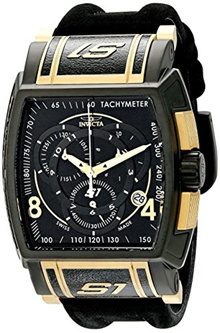 Invicta Mens 12783 S1 Rally Analog Display Swiss Quartz Black Watch
