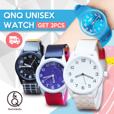 FREE SHIPPING! NEW ITEM UPDATE! FREE EXTRA BATRAI! TODAY ONLY! UNISEX WATCH _ JAM TANGAN QNQ UNISEX Deals for only Rp119.000 instead of Rp119.000