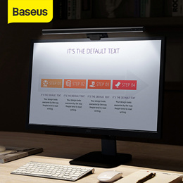Baseus Screenbar Light Desk Lamp Computer Laptop Screen Bar Hanging Light Table Lamp For LCD Monitor