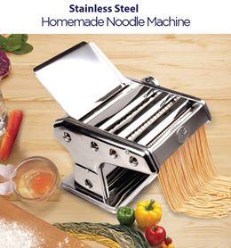 Brand New Premium Stainless Steel Homemade Noodle Maker. Local SG Stock and warranty !!