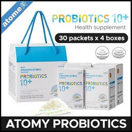 Anti-Virus🔥 [ATOMY] PROBIOTICS / Health supplement (30 packets x 4 boxes) 100% Authentic