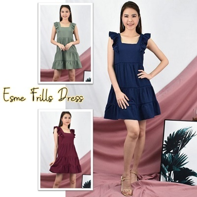 Esme Frills Dress