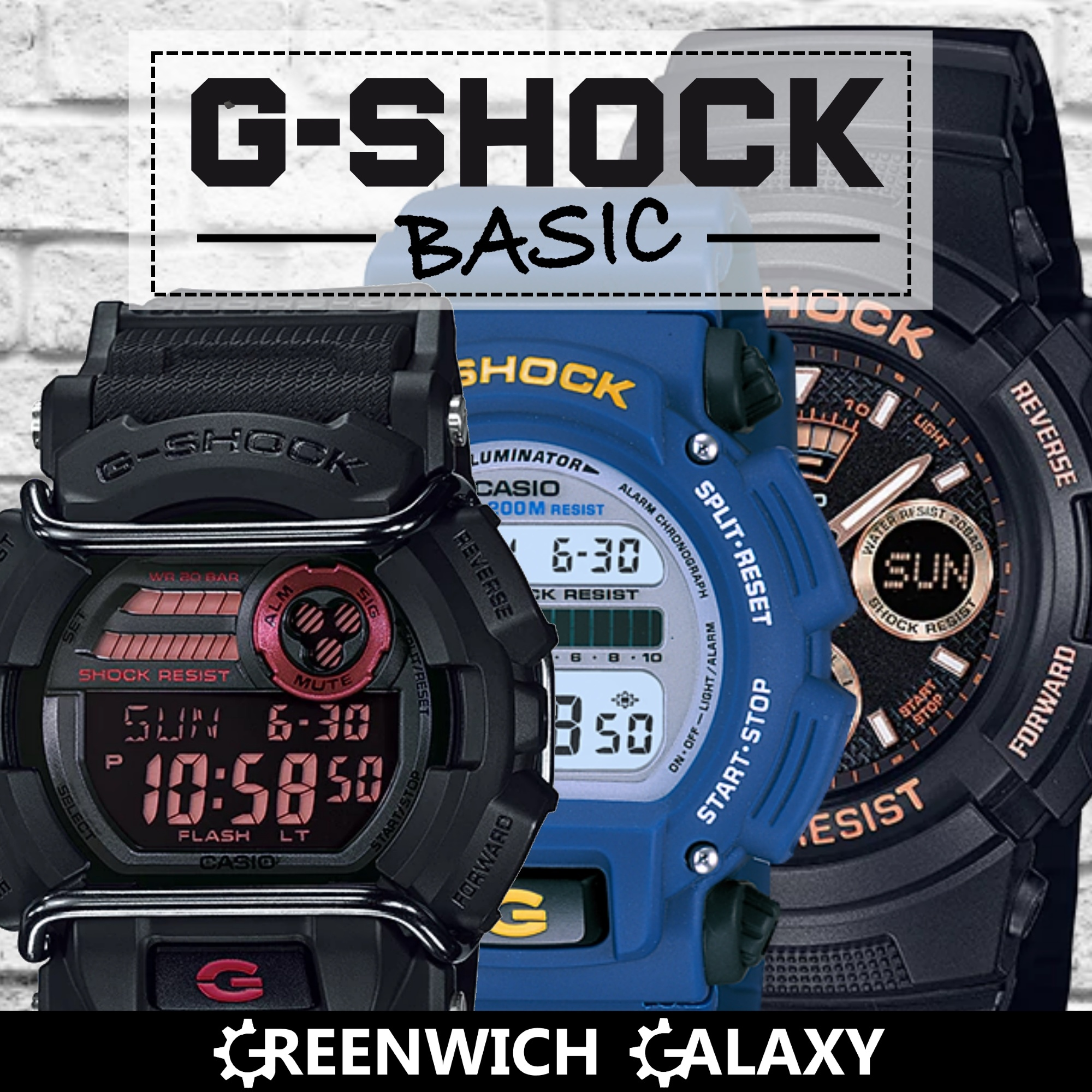Qoo10 G Shock Combined Watch Jewelry Casio Dw 9052 2v Fit To Viewer