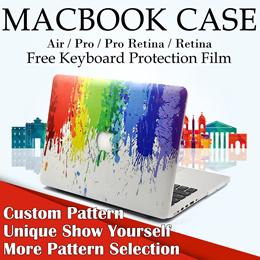 [JD]🚚🚚Stock in Sinapore★Custom Series★MacBook Case★Casinging Cover Hard Cover Case for Macbook