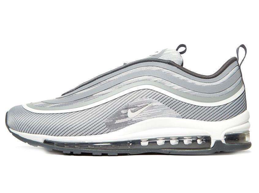 finest selection fa059 f4a70 Nike Men Air Max 97 UL 17 Classic 2018 Sneaker Schuhe Leder Premium Grey  918356-007 US7-11 06