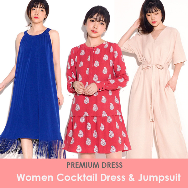 NEW! Premium Women Cocktail Dress Deals for only Rp79.000 instead of Rp79.000