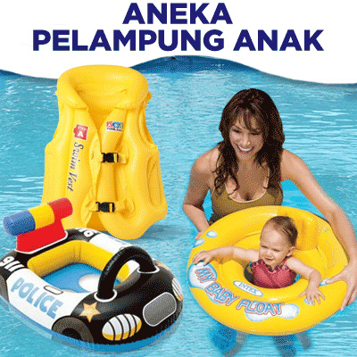 INTEX Ban Renang Pelampung Aneka Motif Anak | Pelampung Rompi Anak | Kasur Intex Inflatable Floating Deals for only Rp12.000 instead of Rp12.000